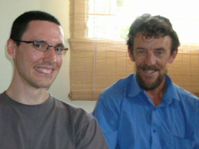 Image of Geoff Lawton and Douglas Barnes